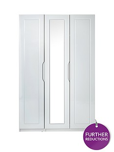 milan-3-door-high-gloss-mirrored-wardrobe
