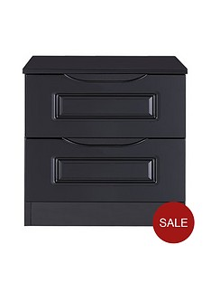 milan-ready-assembled-high-gloss-2-drawer-bedside-chest