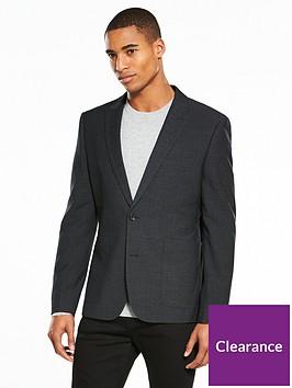 v-by-very-slim-pindot-blazer