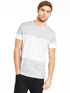 v-by-very-short-sleeve-multi-stripe-tee