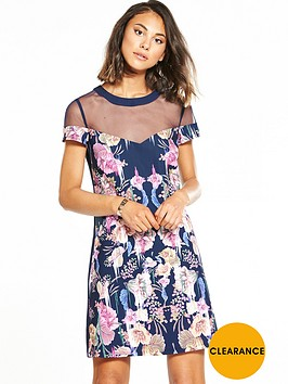 little-mistress-lace-botanical-shift-dress-navy