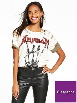 religion-fade-t-shirt-khaki