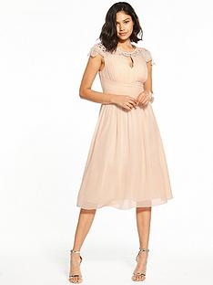 little-mistress-cap-sleeve-midi-dress-nude