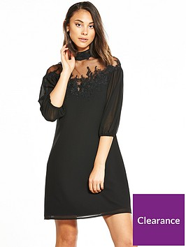 little-mistress-lace-top-shift-dress