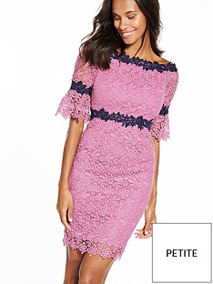 paper-dolls-petite-pink-and-black-lace-bardot