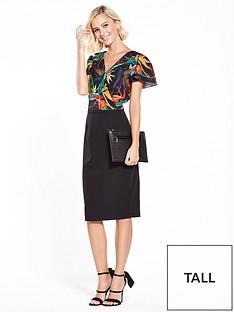 paper-dolls-paper-dolls-tall-dark-tropical-printed-2-in-1-dress