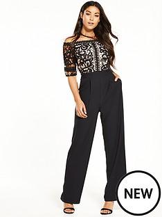 little-mistress-floral-crochet-jumpsuit-black