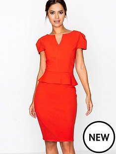 paper-dolls-peplum-hem-self-belted-dress
