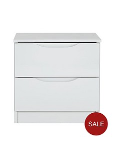 monaco-high-gloss-ready-assembled-2-drawer-bedside-chest