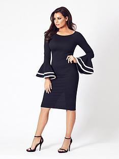 jessica-wright-yulia-long-sleeve-midi-dress-black