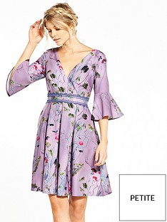 little-mistress-petite-wild-flower-print-shift-dress