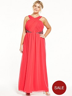 little-mistress-curve-halter-maxi-dress-red