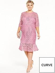 paper-dolls-curve-crochet-pencil-dress-with-peplum-hem