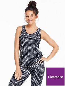 michelle-keegan-monochrome-printed-gym-vest