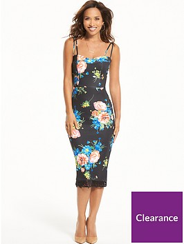 myleene-klass-printed-scuba-bodycon-dress