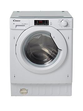 Candy Cbwd8514D 8Kg Wash 5Kg Dry 1400 Spin Fully Integrated Washer Dryer  White