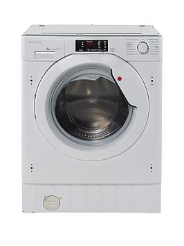 Hoover Hbwm814D 8Kg Load 1400 Spin Fully Integrated Washing Machine  White