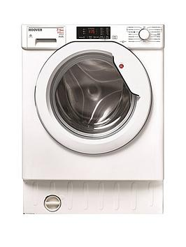 Hoover   H-Wash 300 Hbwd7514Da 7Kg Wash 5Kg Dry 1400 Spin Fully Integrated Washer Dryer - White - Washer Dryer Only