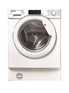 Hoover Hbwd7514Da 7Kg Wash 5Kg Dry 1400 Spin Fully Integrated Washer Dryer  White