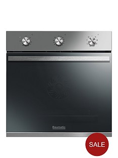 baumatic-bomm608x-60cm-built-in-electric-single-oven-stainless-steel