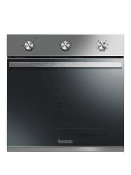 Baumatic Bomm608X 60Cm BuiltIn Electric Single Oven  Stainless Steel