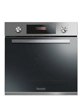 Baumatic Bopt609X 60Cm Built In Electric Single Oven  Stainless Steel