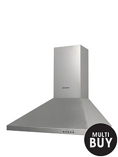 candy-cce162x-60cm-chimney-cooker-hood-stainless-steel