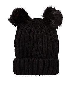 oasis-double-pom-pom-beanie-hat
