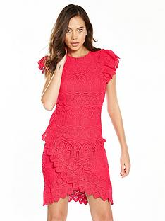 v-by-very-lace-cross-over-frill-dress