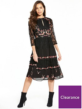 v-by-very-embroidered-lace-midi-dress