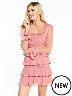 v-by-very-lace-ruffle-mini-dress