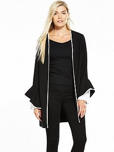 v-by-very-pleated-sleeve-soft-longerline-jacket-black
