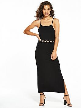 miss-selfridge-petite-lace-trim-jersey-maxi-dress