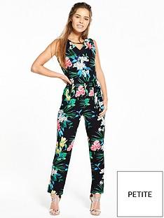 wallis-wallis-petite-tropical-floral-jumpsuit