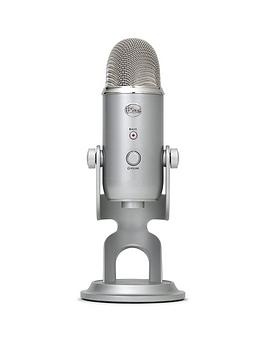 Blue Microphones Yeti Usb Microphone  Silver