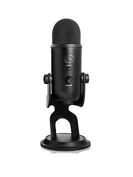 Blue Microphones Yeti Usb Microphone  Blackout