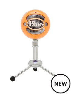 blue-blue-microphones-snowball-omnidirectionalcardioid-usb-microphone-neon-orange