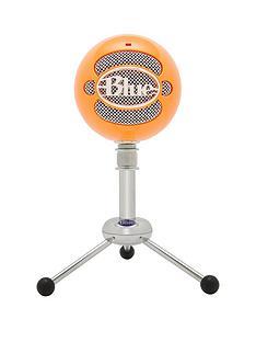 blue-microphones-snowball-omnidirectionalcardioid-usb-microphone-neon-orange