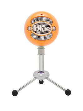 Blue Microphones Snowball OmnidirectionalCardioid Usb Microphone  Neon Orange
