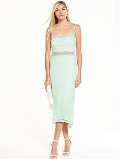 vero-moda-cornelli-fish-tail-dress-mint