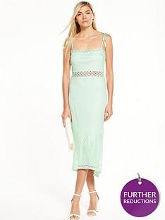 vero-moda-cornelli-fish-tail-dress-mint