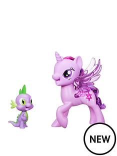 my-little-pony-my-little-pony-princess-twilight-sparkle-spike-the-dragon-friendship-duet