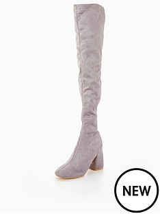 lost-ink-tobinbspbubble-heel-over-the-knee-boot