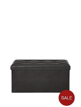 faux-leather-ottoman
