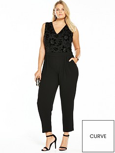 v-by-very-curve-lace-detailnbsptapered-leg-jumpsuit-black