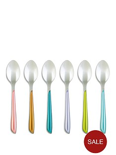 amefa-metallic-eclat-6pc-teaspoon-set