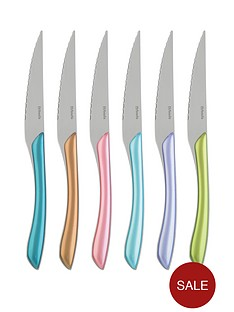 amefa-metallic-eclat-6-piece-steak-knife-set