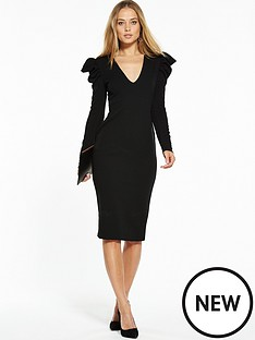 v-by-very-power-shoulder-bodycon-dress