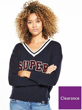 superdry-logo-v-neck-knit