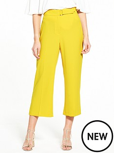 river-island-yellow-crop-trouser